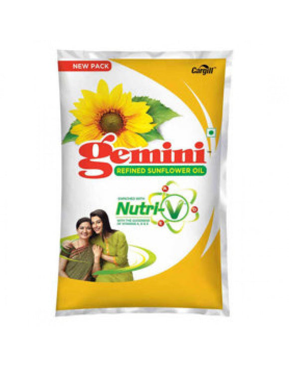 Gemini Refined Sunflower Oil 1litre