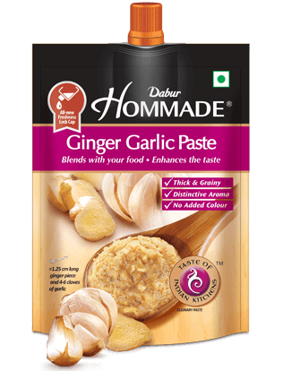Dabur Hommade Ginger Garlic Paste