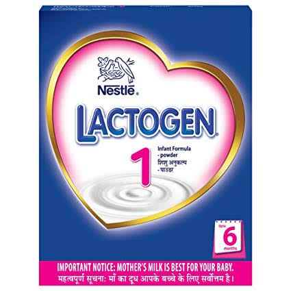 Nestle Lactogen 1 Infant Formula Powder - Upto 6 months, Stage 1, 400 g Bag-In-Box