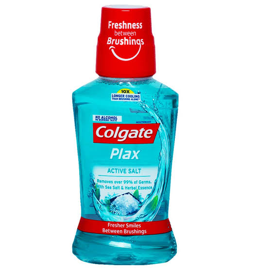Colgate PlaxMouth Wash Active Salt,250ml