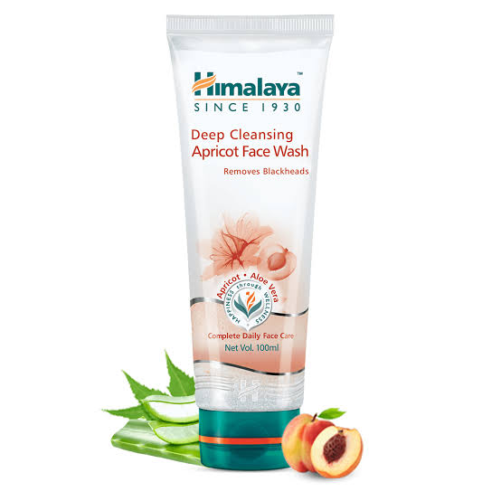 Himalaya Facewash Deep Cleaning Apricot  50ml
