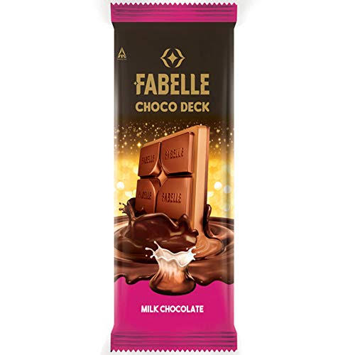 Fabelle Choco Deck Milk Chocolate 130g
