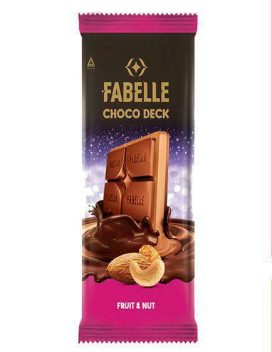 Fabelle Choco Deck Fruit & Nut 128g