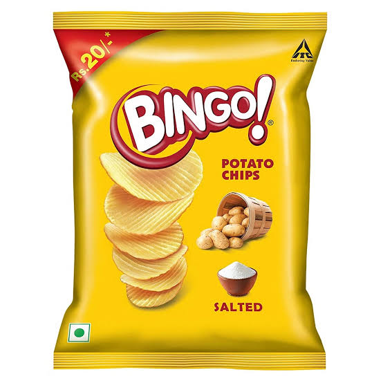 Bingo Potato Chips Salted 52g