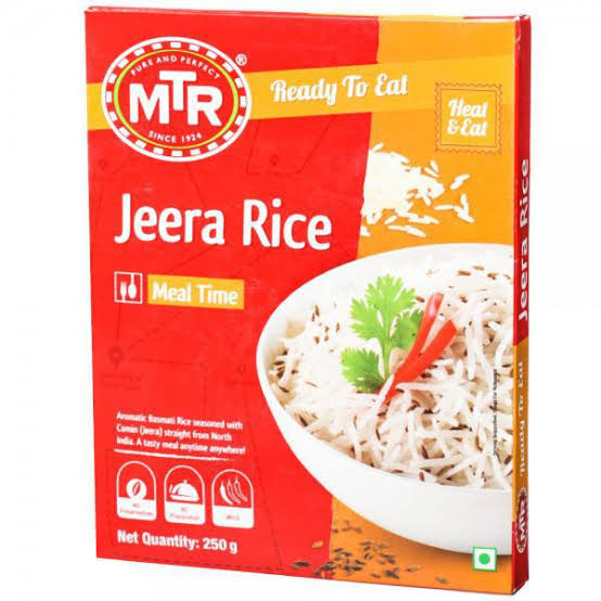 MTR Jeera Rice 250g Box