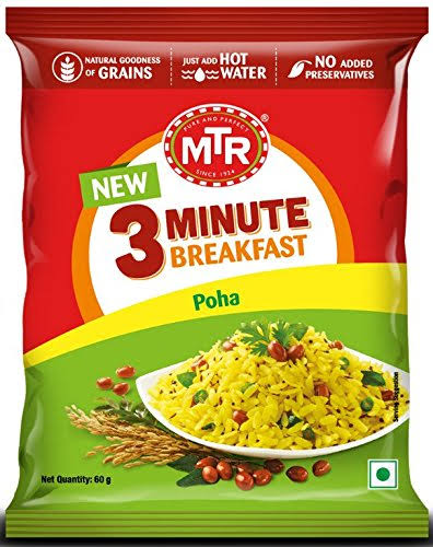 MTR Breakfast Poha 160g Pack