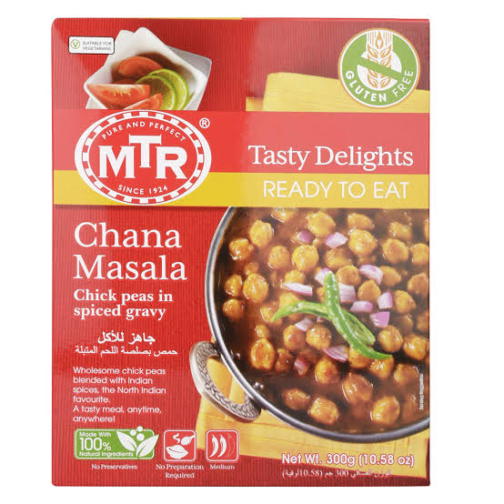 MTR Chana Masala 300g Box