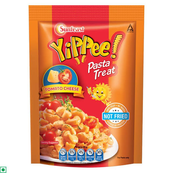 Sunfeast Yippee! Pasta Treat,Tomato Cheese 65g