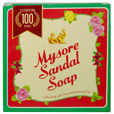 mysore sandal bathing bar box