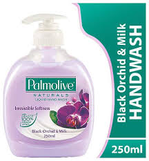 Palmolive Hand Wash - Black Orchid & Milk Imported 250 ml