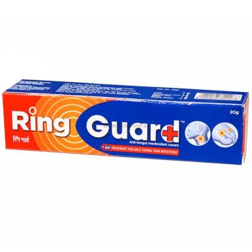 Ring Guard Anti-Fungal Medicated Cream 20g