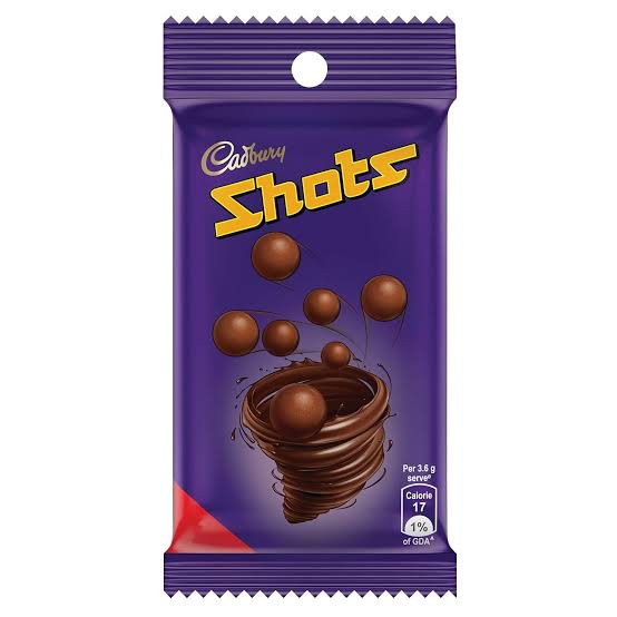 Cadbury  Dairy Milk Chocolate  Shots 36g
