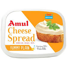Amul cheese Spread - plain, 200 g Box