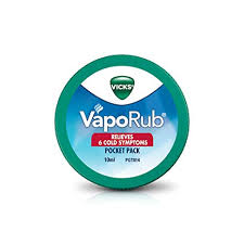 Vicks Vaporub Pocket Pack