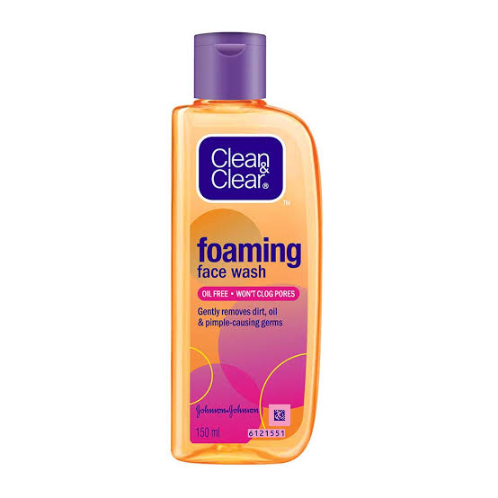 Clean &Clear Foaming Facewash
