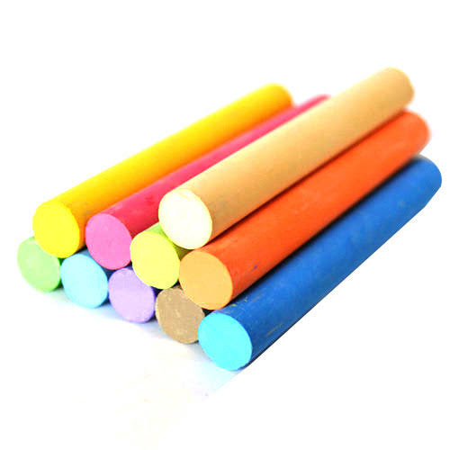 Colour Chalk Pack of 10