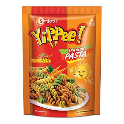 Sunfeast Yippee Tricolor Pasta 65g,MasalaBuy One Get One Free