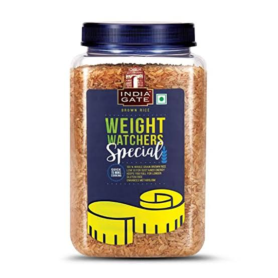 India Gate Whole Grain Brown Rice 1kg