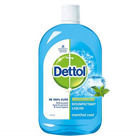 Dettol  disinfectant  liquid  menthol  cool 200ml