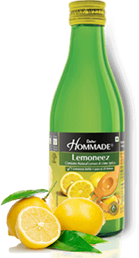 Dabur Hommade -Lemoneez (Natural Lemon And Lime Concentrate), 250 ml