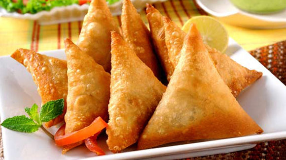 Goodfood onion samosa pack of 2 including packing charge,available time 10am To 7pm