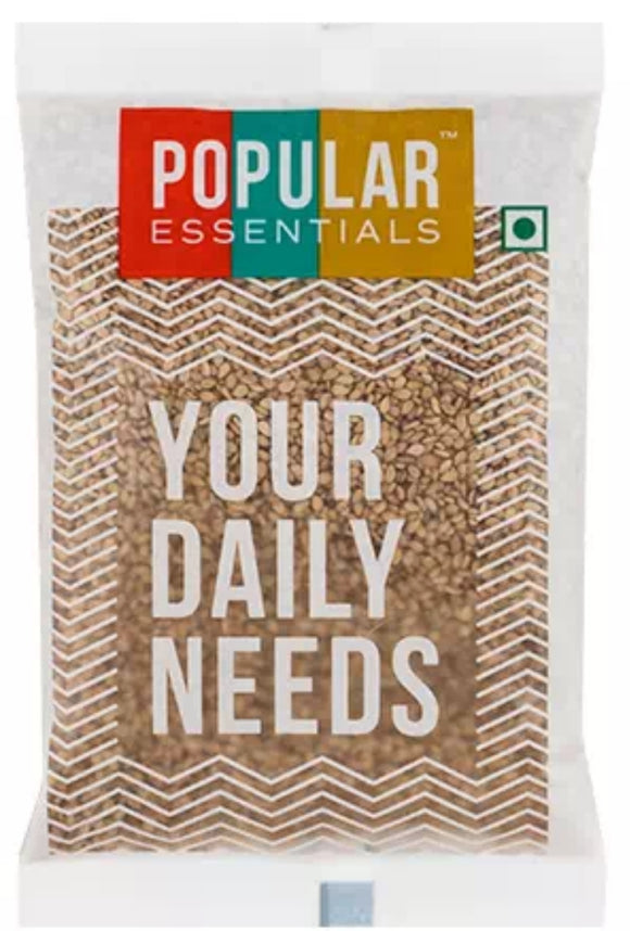 popular essentials white til 100g (sesame)