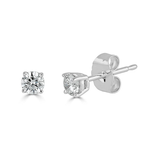 2 Rd 0.25ct Total Weight C-Qual