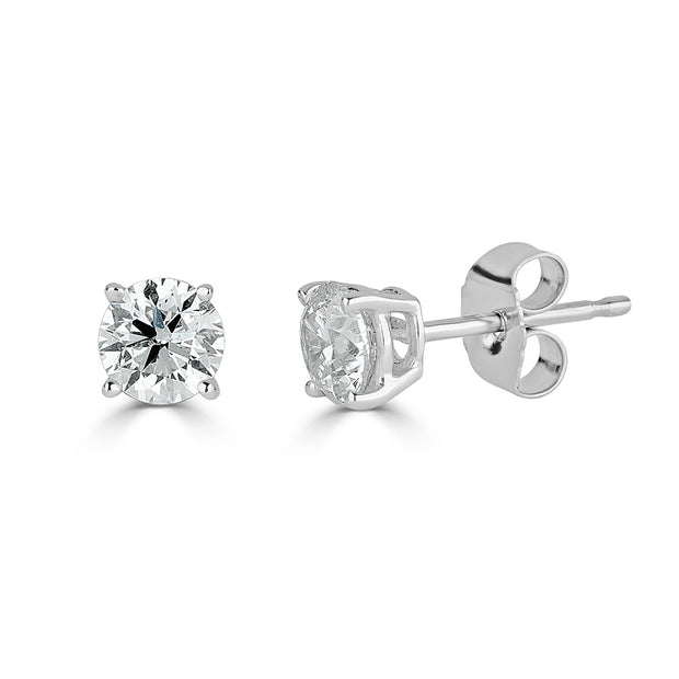 2 RD 0.75ct total weight B-Qual