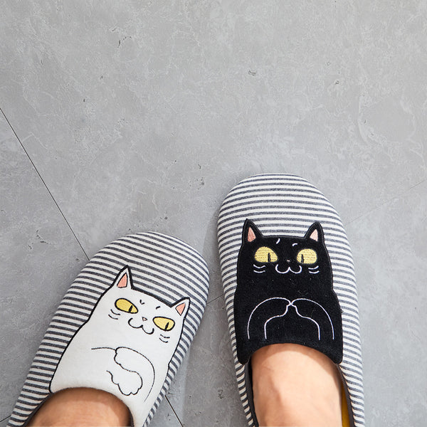 Home Kitty Contrast Slippers