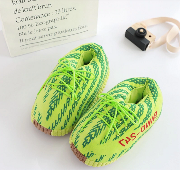 YZ1 Green Slippers