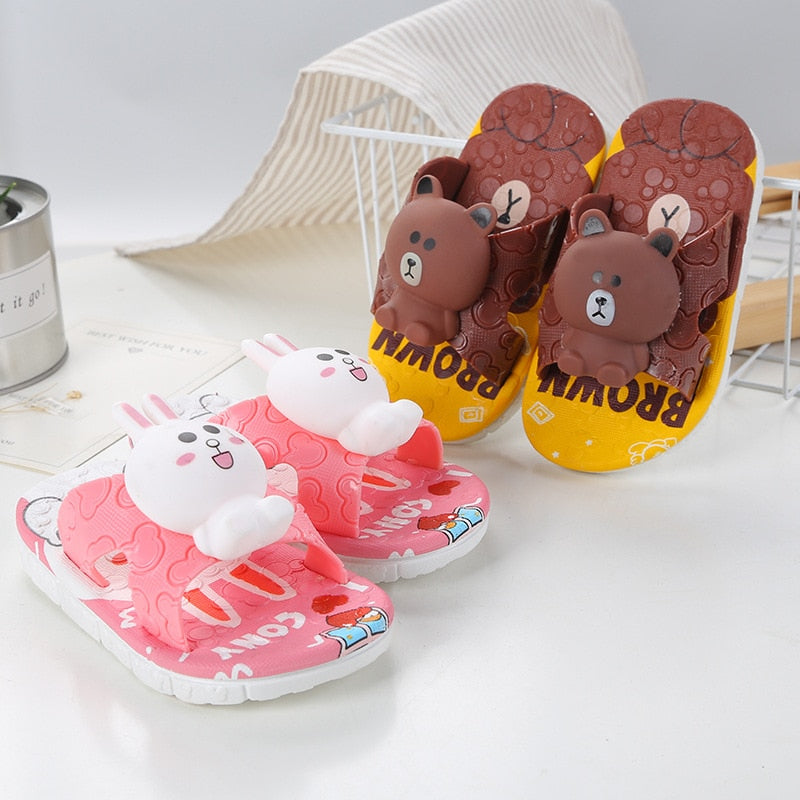 Bunny & Bear Crazy Baby Slides