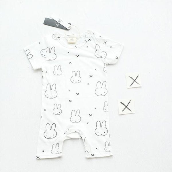 Rabbit Baby Bodysuit