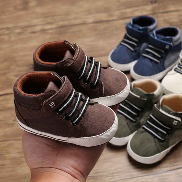 Chamois Leather Baby Shoes