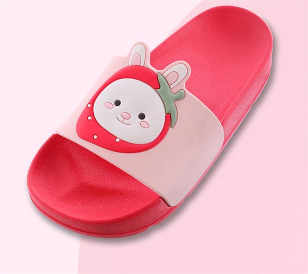 Strawberry Kitty Baby Slides