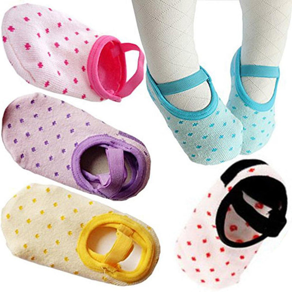 Colorful Spotted Anti-slip Socks