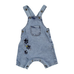 Kitty Paws Denim Jumpsuit