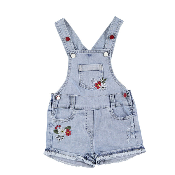 Our Little Flower Denim Jumpsuit
