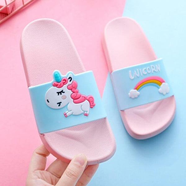 Rainbow Unicorn Slides