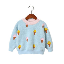 Ice-Cream Cone Sweater