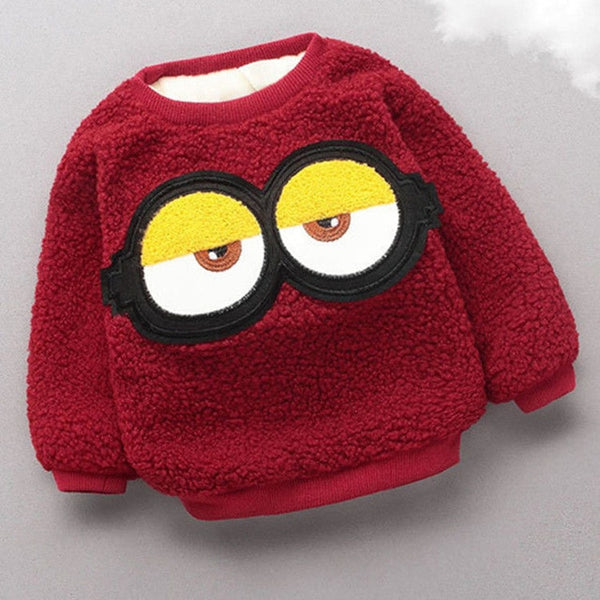Googly Eyes Knitted Sweater