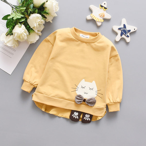 Baby Girl Kitty Sweater