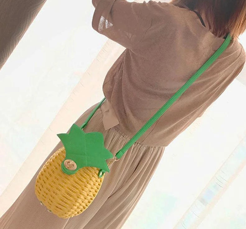 Pineapple Love Handmade Purse