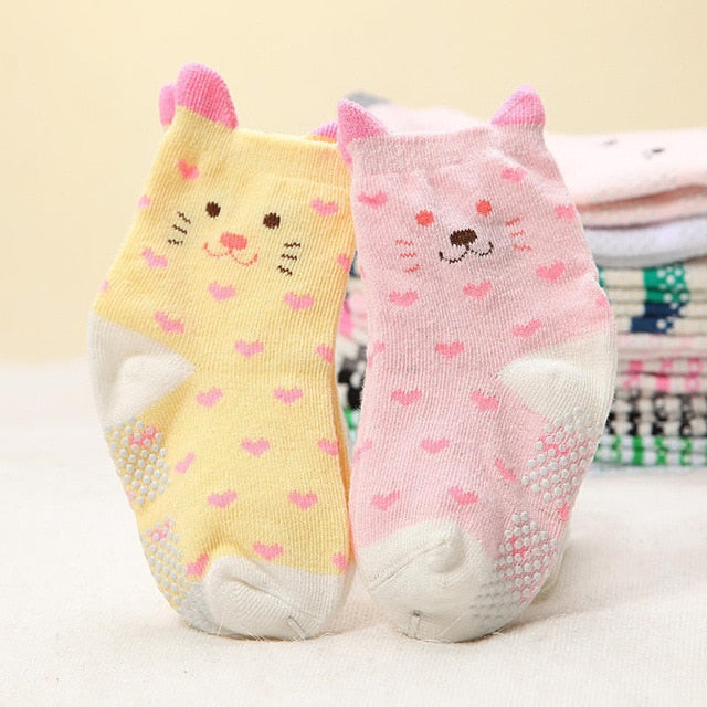 Cute kitties Anti-slip Socks