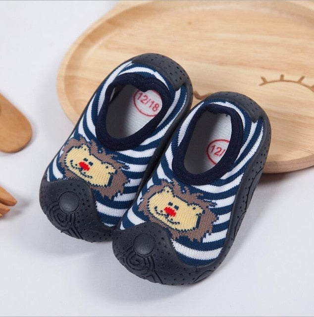 Lion Baby Boy Sock Shoes