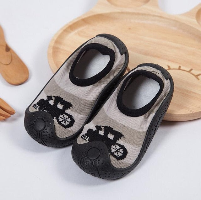 Puppy Baby Boy Sock Shoes