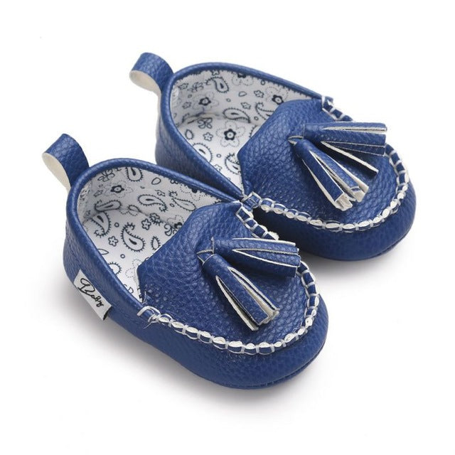 Leather Boat Baby Shoes