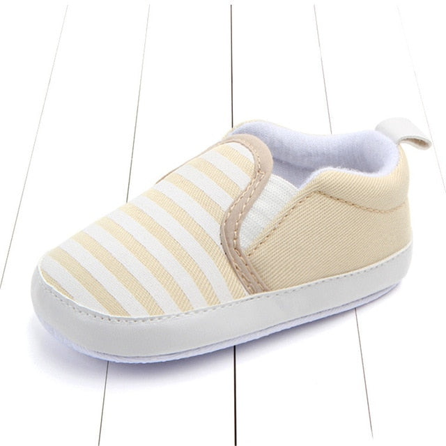 Checkered Slip On Baby Shoes
