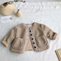 Warm and Fuzzy Button Up Sweater