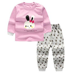 Pink Rabbit Baby Set