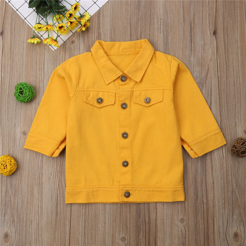 Stylish Toddler Girl Jacket